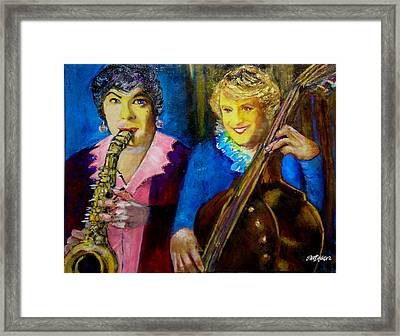 Tony And Jack-some Like It Hot Framed Print by Seth Weaver