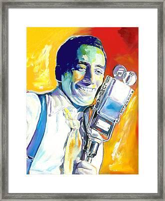Tony Bennett Framed Print
