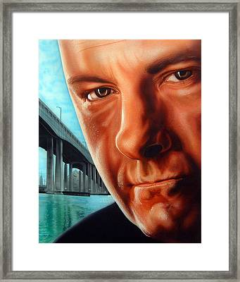 Tony Boss Of Bosses Framed Print