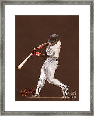 Tony Gwynn Framed Print by Jeremy Nash