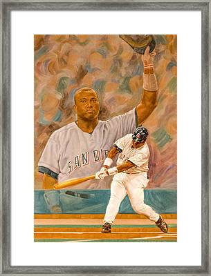 Tony Gwynn Framed Print by Photographic Art by Russel Ray Photos