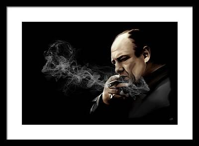 The Sopranos Framed Prints