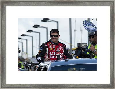Tony Stewart 20 Introduction Framed Print