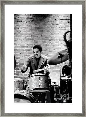 Tony Williams At The Penthouse Framed Print