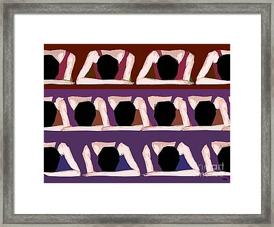 Too Cool For School Framed Print by Patrick J Murphy