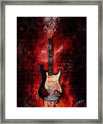 Too Hot To Handle Framed Print by Gary Bodnar