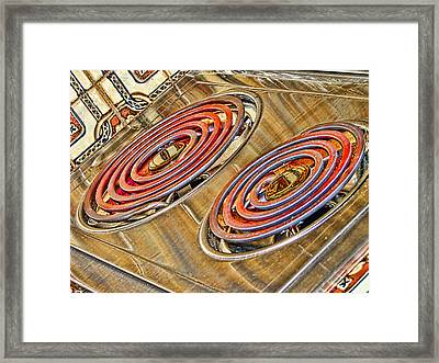 Too Hot To Handle - For Metallic Paper Framed Print by Wendy J St Christopher