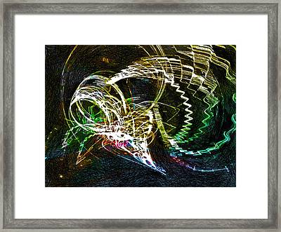 Too Long In A Dark Cave  Framed Print
