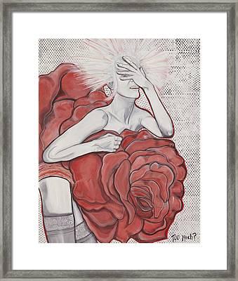 Too Much Framed Print by Darlene Graeser