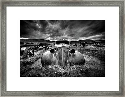 Too Old To Drive Framed Print by Carsten Schlipf