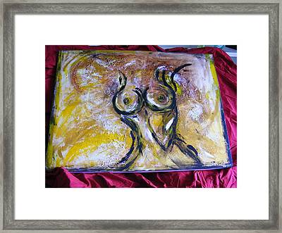 Too Perfect  Framed Print by Kim St Clair