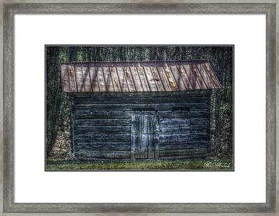 Tool Shed Framed Print by Missy Richards