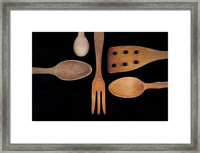 Tools Of The Trade Framed Print by Beth Achenbach