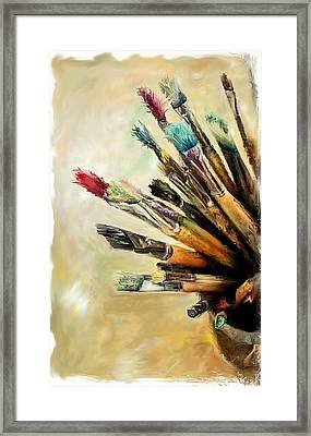 Tools Of The Trade... Framed Print