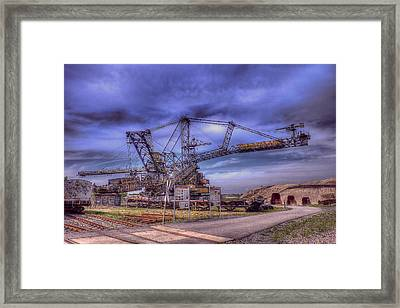 Tools Of The Trade Framed Print by Mountain Dreams