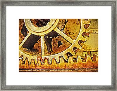 Tooth Decay Framed Print by Tony Crehan
