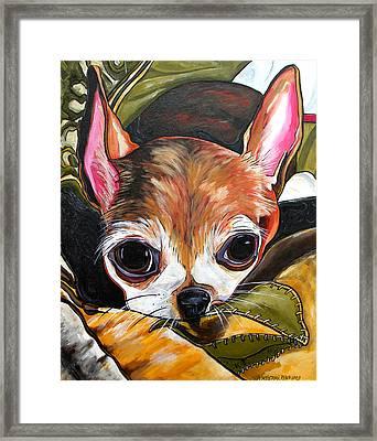 Tootie Framed Print by Patti Schermerhorn