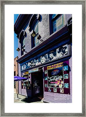 Tootsies Nashville Tennessee Framed Print