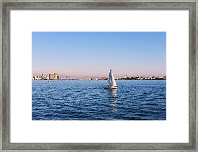 Top Destination San Diego Framed Print by Christine Till