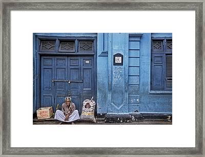 Top Dog Framed Print