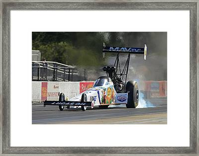 Top Fuel Dragster Framed Print by Gianfranco Weiss
