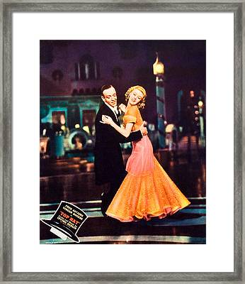 Top Hat, From Left Fred Astaire, Ginger Framed Print by Everett