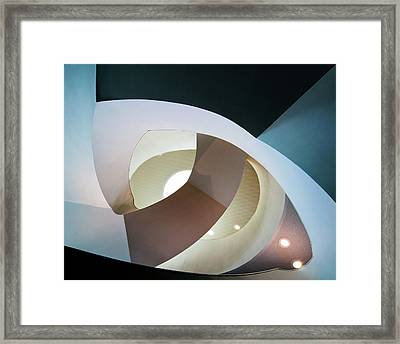 Top Light Framed Print by Henk Van Maastricht