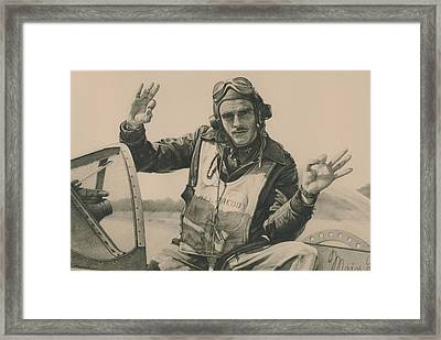 Top Mustang Ace Framed Print