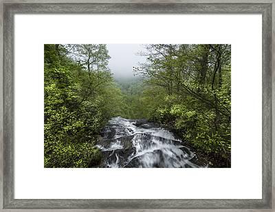 Top Of Amicalola Falls Framed Print