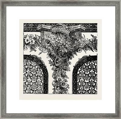 Top Of Decoration For Room Framed Print