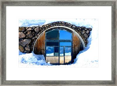 Top Of Germany Reflection Framed Print by The Creative Minds Art and Photography