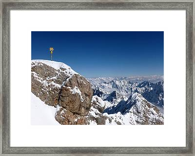 Top Of Germany  Framed Print by The Creative Minds Art and Photography