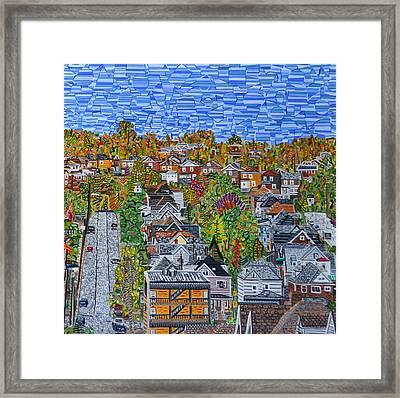 Top Of Hoosac Street Framed Print by Micah Mullen