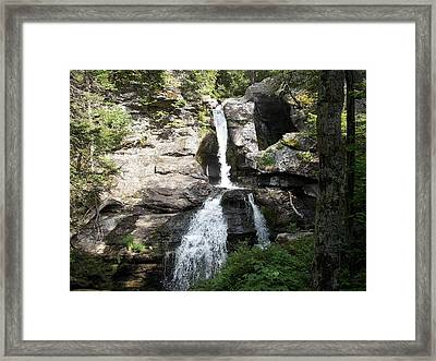 Top Of Kent Falls Framed Print