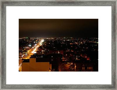 Top Of Kingston Series 002 Framed Print by Paul Wash