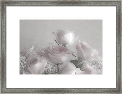 Top Of My Bouquet Framed Print by Sandra Foster