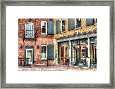 Top Of Railroad Street - Great Barrington Framed Print