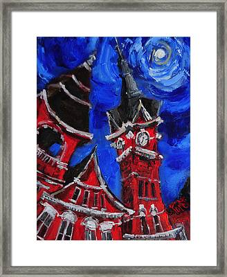 Top Of Samford Hall Framed Print