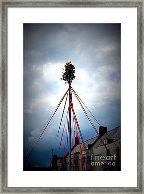 Top Of The Maypole Framed Print