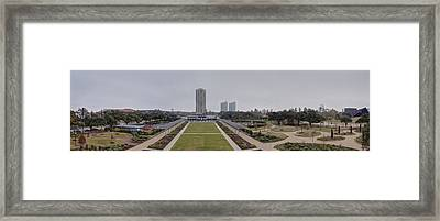 Top Of The Park Framed Print