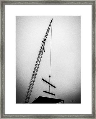 Top Of The Skyscraper Framed Print by Bob Orsillo