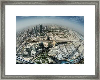 Top Of The World Framed Print by Robert Work
