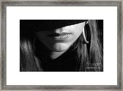 Top Secret Framed Print by Andre Paquin