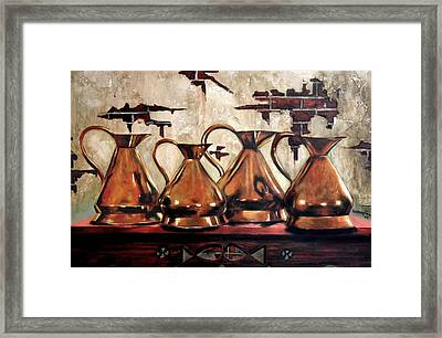 Top Shelf Framed Print by Anthony Falbo