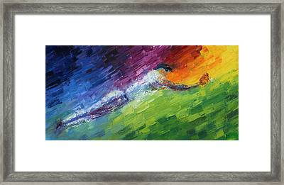 Top Ten Play Of The Day Framed Print by Ash Hussein