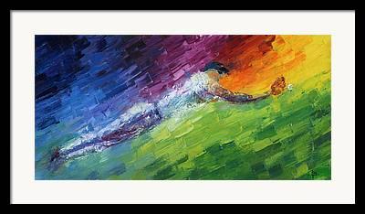 Rbi Paintings Framed Prints