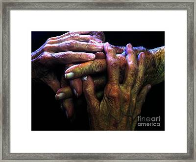 Top2generations Framed Print
