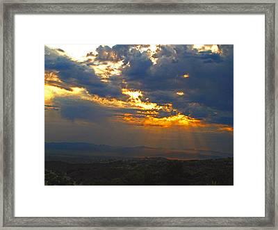 Topanga Canyon 2 Framed Print