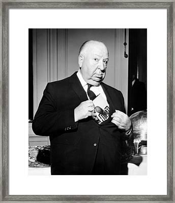 Topaz, Director Alfred Hitchcock Framed Print