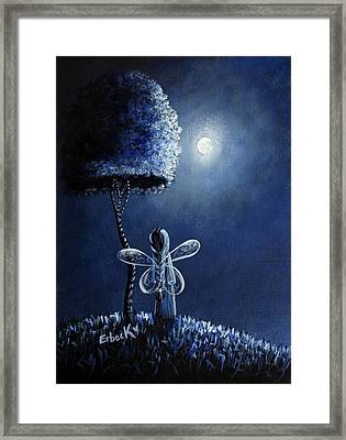 Topaz Fairy Original Artwork Framed Print